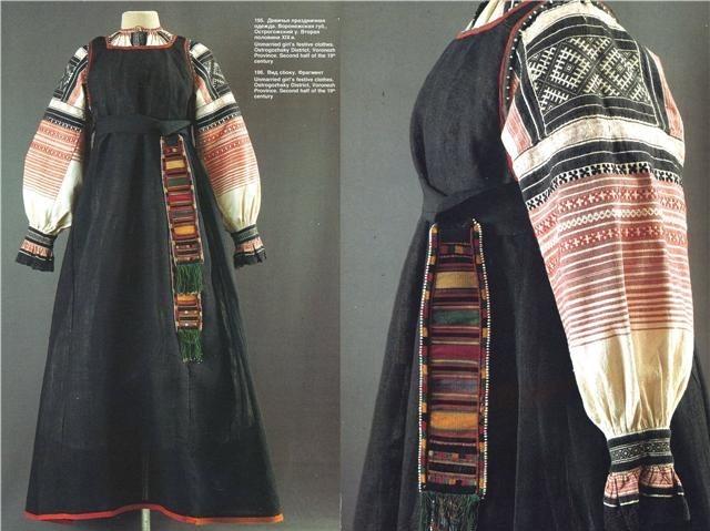 оберег в славянской одежде, обереги одежды, славянские обереги на теле