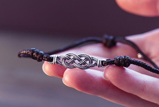 славянский браслет, браслет из серебра, купить защитный браслет, славянский браслет оберег