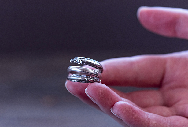 перстень серебряный, кольцо серебро купить, символ бога рода, славянский оберег