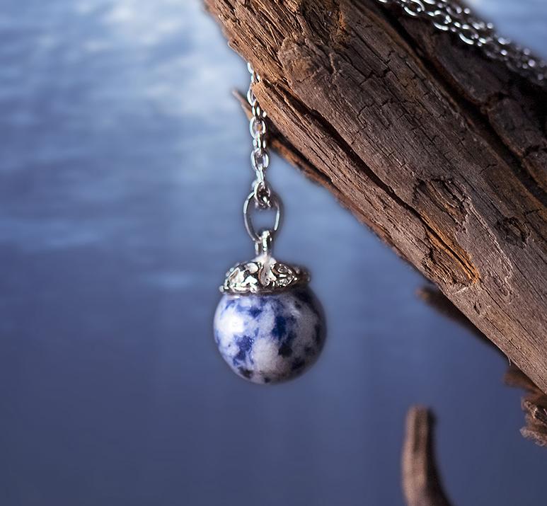 кулон камень, кулон лазурит, магия камней, магия стихий, стихия воды, кулон на любовь