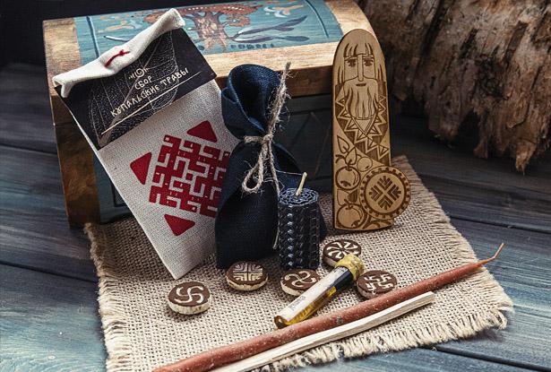 набор для обряда, обряды на защиту, ритуалы защиты, обряд авсень, солнечный излом