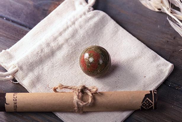 магический камень, унакит шар, сила лёли