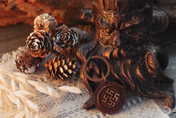 знак Цвет папоротника, цветок папоротника, купить оберег дерево, Цвет папоротника амулет, брелок славянский купить, брелок дерево, знак Цвет папоротника купить, брелок купало