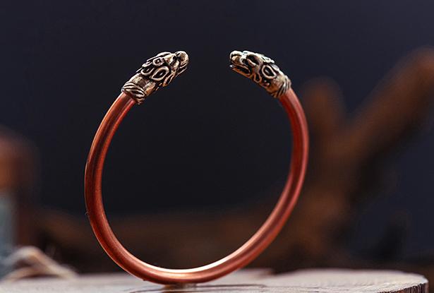 славянский браслет, браслет из меди, купить медный браслет, славянский браслет оберег