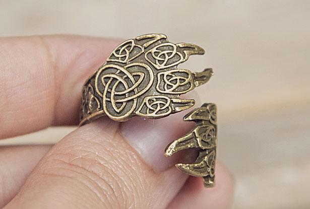 кольцо велеса, перстень велес