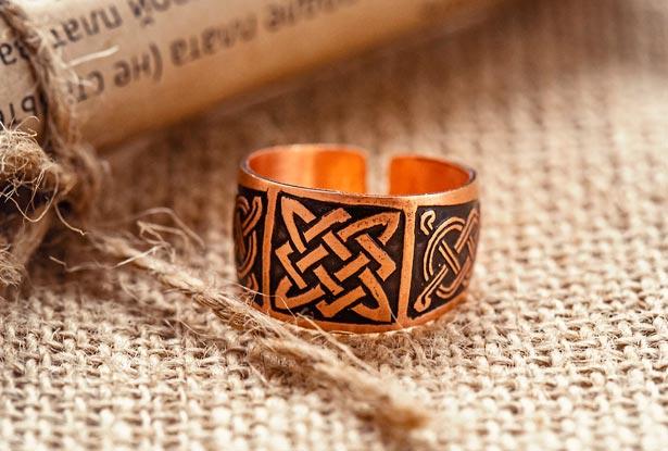 кольцо сварог, квадрат сварога, кольцо металл, купить кольцо