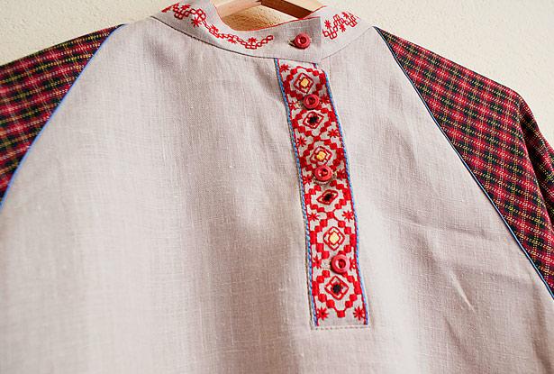 мужская русская рубаха
