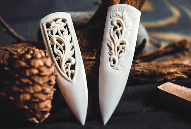 нож из кости