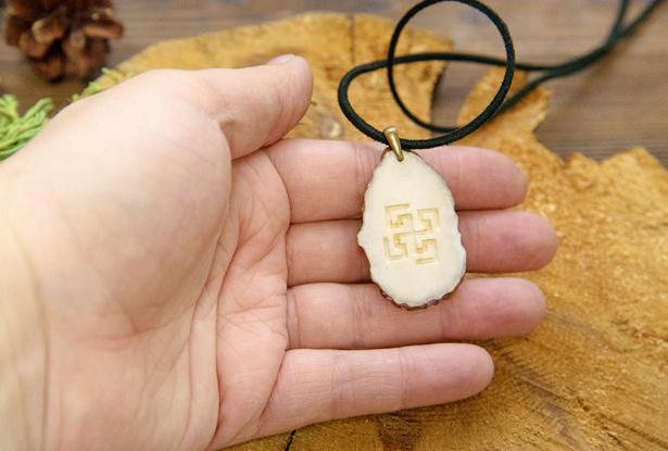 символ богини макошь, купить амулет из кости