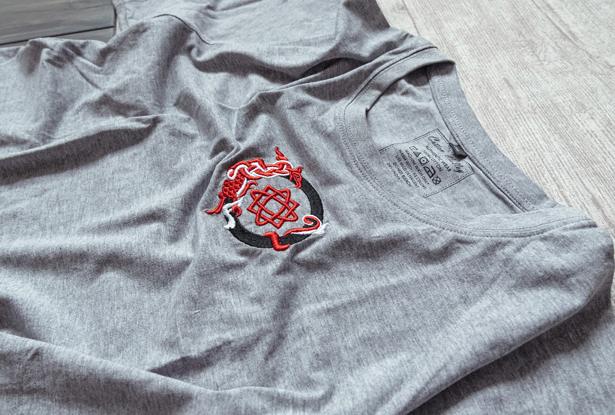 футболка звезда руси, футболка славянская, футболка хлопок, купить футболку, купить славянскую футболку, футболка со славянским знаком, серая футболка, футболка с вышивкой, купить футболку с вышивкой, серая футболка купить