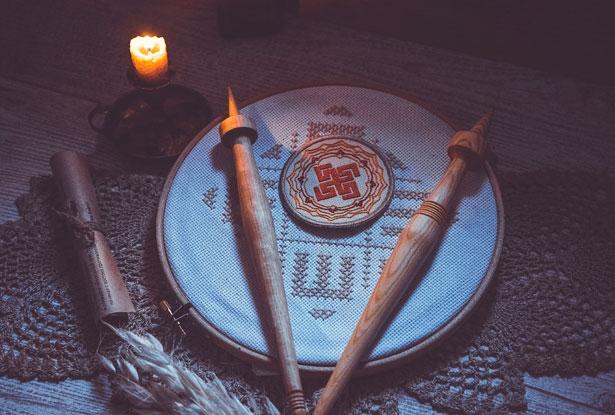 обучение магии веретена, купить набор веретён