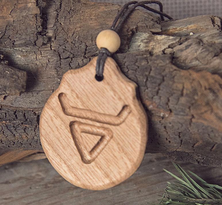 славянские деревянные обереги купить