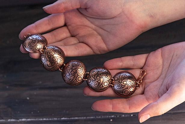 медный браслет, магический браслет, браслет оберег, браслет медь, купить медный браслет, купить славянские браслеты
