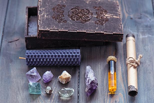 набор камней, камни для магии, магия камней