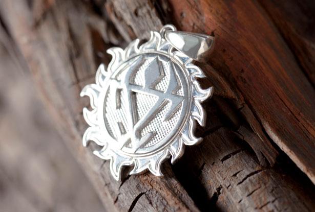 кулон оберег из серебра, белобог серебро, чернобог серебро