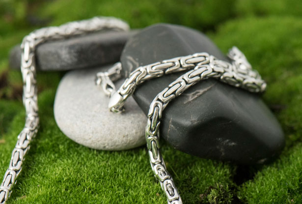 купить серебряную цепочку, мужская серебряная цепочка на шею