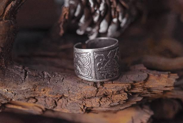 русальное кольцо, славянское кольцо купить, славянский оберег