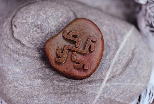 знак купало, каменный жезл, купить магический жезл, магический жезл, камень алтарь, камень яшма