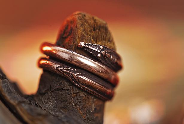 кольцо медь, перстень медный, кольцо медь купить, символ бога рода, славянский оберег