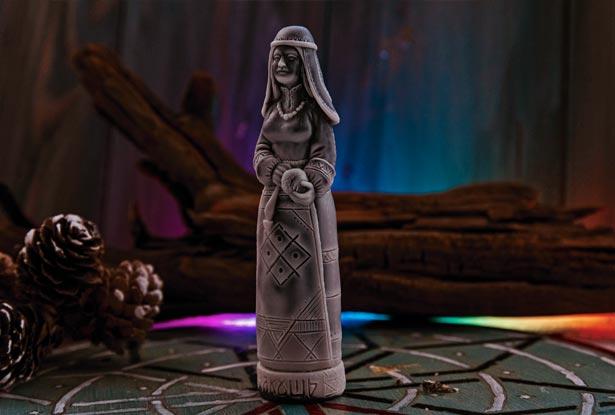 кумир богини Макошь, чур Макошь