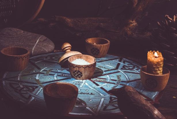 ведовство, чаша для обряда, чаша для подношений