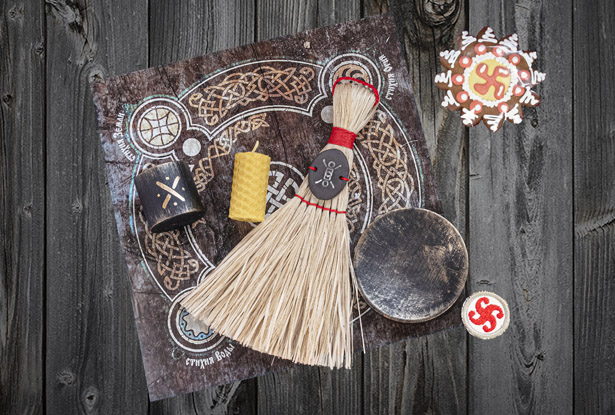 обряд к домовому, обряд на благополучие, обряд на защиту, защита предков, обращение к предкам