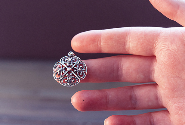 славянский крес, подвеска из серебра, купить защитный оберег, славянский оберег, купить крес, кулон серебро