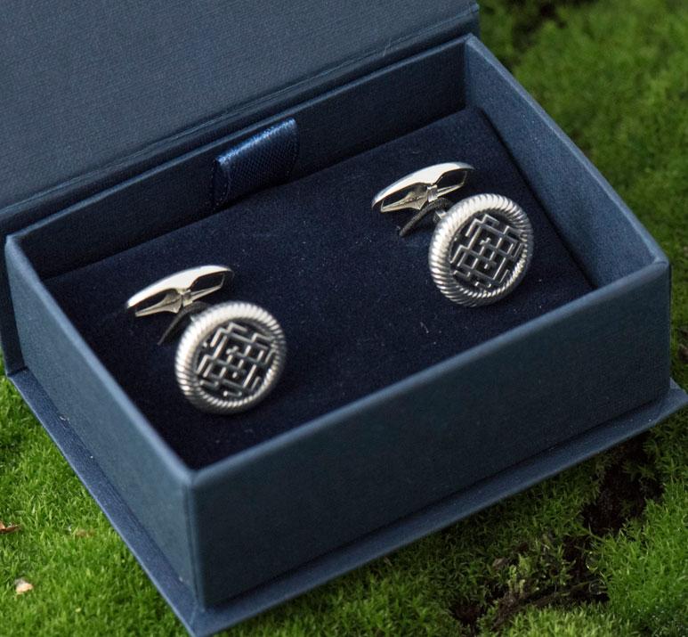 запонки из серебра, запонки серебряные мужские купить