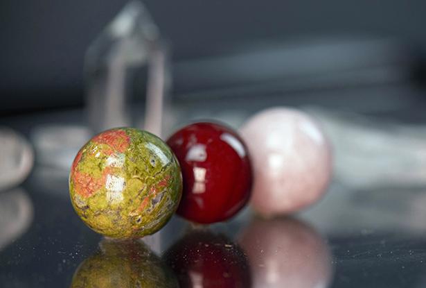 магический камень, кварц шар, сила тары