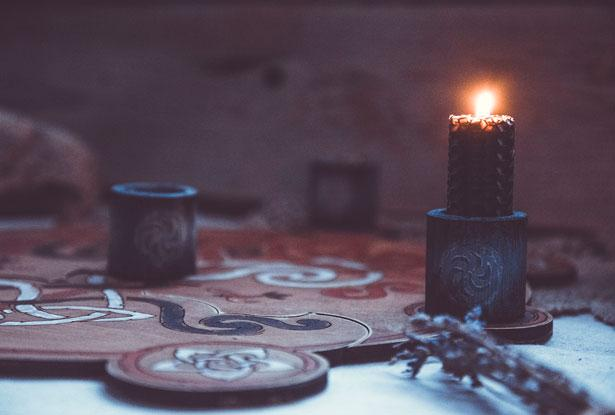 подсвечник, семаргл, стихия огня, магический обряд