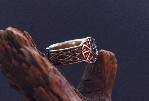защитное кольцо, славянское кольцо купить, кольцо для магии