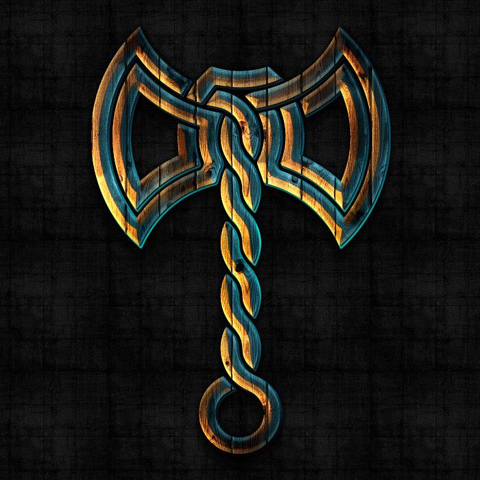 символ Топор Перуна, знак Топор Перуна, оберег Топор Перуна, оберег Перун