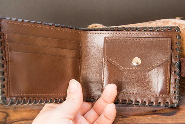 бумажник мужской кожаный