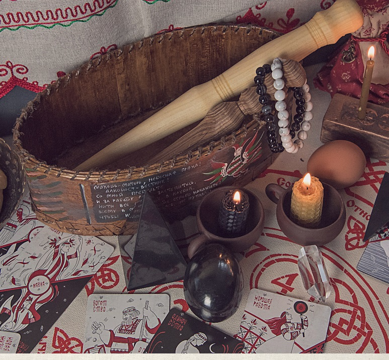 Приятные дополнения для обрядов гадания Резами Духов