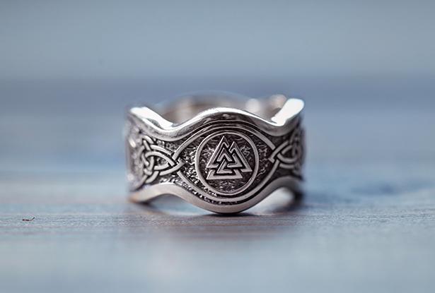 серебряное мужское кольцо, славянское кольцо серебро, защитное кольцо, славянское кольцо купить