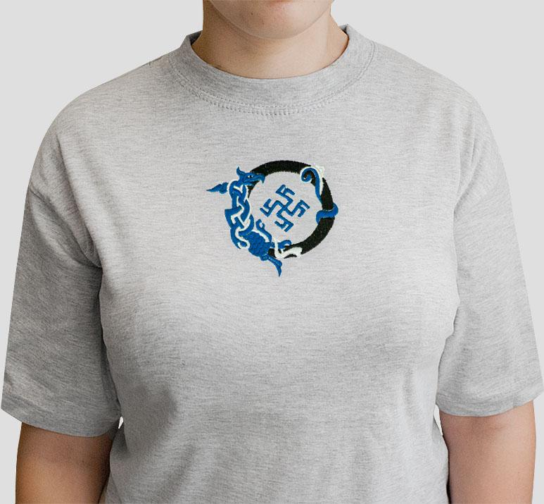 футболка со знаком Перунов цвет