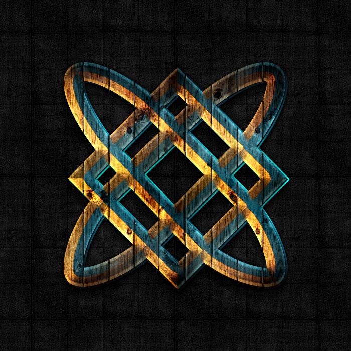 знак Кузня Сварога, символ Кузня Сварога, оберег Кузня Сварога