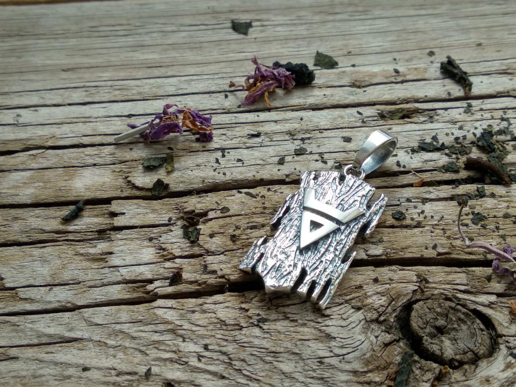 купить серебряный кулон