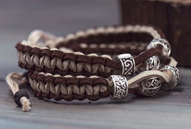 браслет велес купить, браслет из кожи купить, купить славянский оберег, славянский браслет, славянский браслет купить, кожаный браслет, браслет ручной работы купить