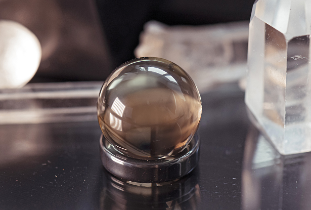 магический камень, Раухтопаз шар, купить Раухтопаз