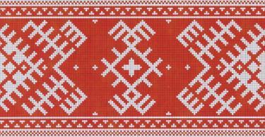 Славянская вышивка для женщины