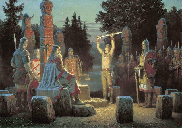 Капище древних славян
