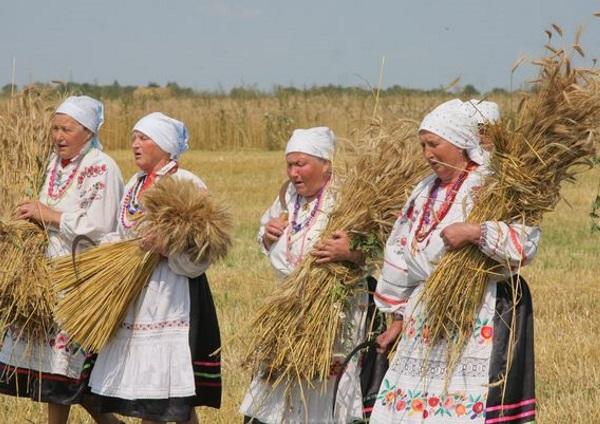 язычество древних славян, праздник урожая у славян