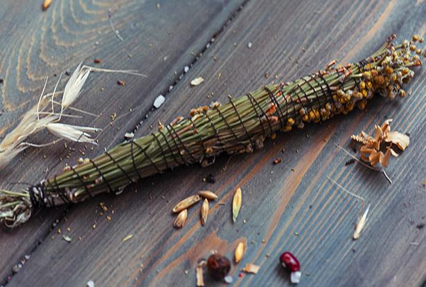 полынь купить, травы для окуривания, скрутка магическая, защита дома, от безденежья