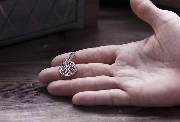 кулон сварог, купить амулет из серебра, оберег сварог, амулет сварог, сварог серебро, подвеска сварог