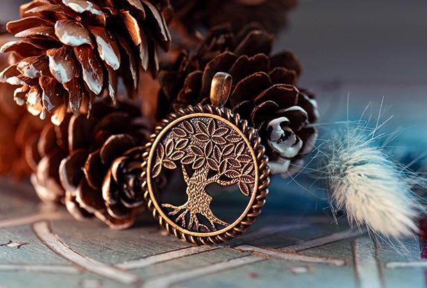 знак рода, оберег древо, мировое древо, подвеска славянская купить