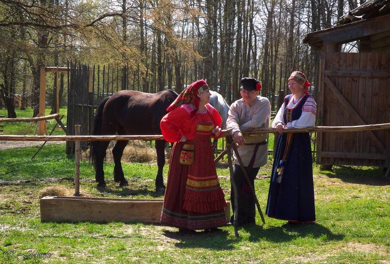 Праздник Ярила Вешний – день первого вывода скотины на пастбище